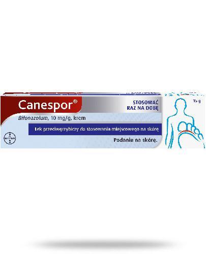 Canespor 10mg/g krem przeciwgrzybiczy z bifonazolem 15 g