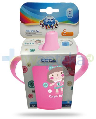 Canpol Babies Anywayup by Haberman kubek niekapek dla dzieci 9m+ 250 ml [31/200]