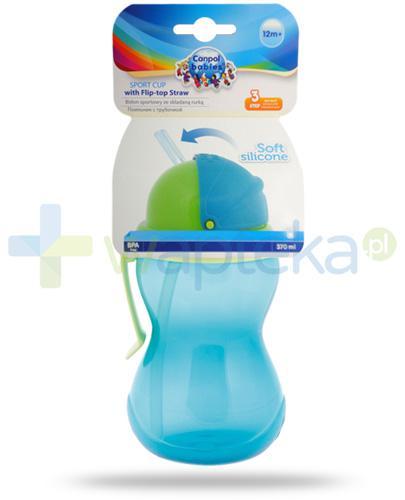 Canpol Babies bidon ze składaną rurką dla dzieci 12m+ 370 ml [56/113]