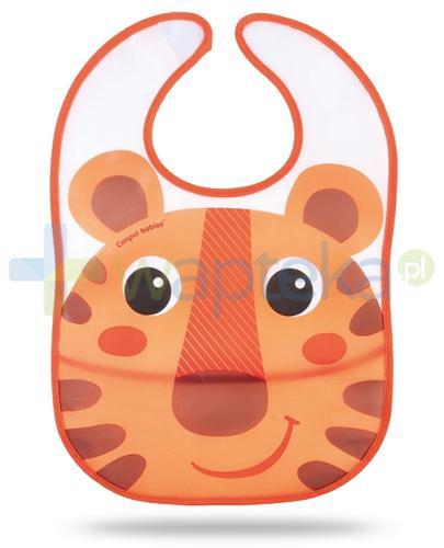 Canpol Babies Hello Little śliniak z wywijaną kieszonką dla dzieci 6m+ 1 sztuka [9/233prom_ora]