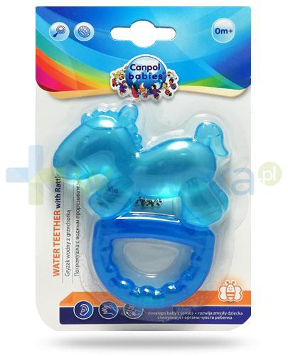 Canpol Babies Konik gryzak elastyczny z grzechotką dla dzieci 0m+ 1 sztuka [74/018]