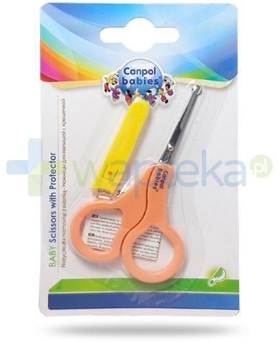Canpol Babies nożyczki z osłonką dla dzieci 1 sztuka [2/809]