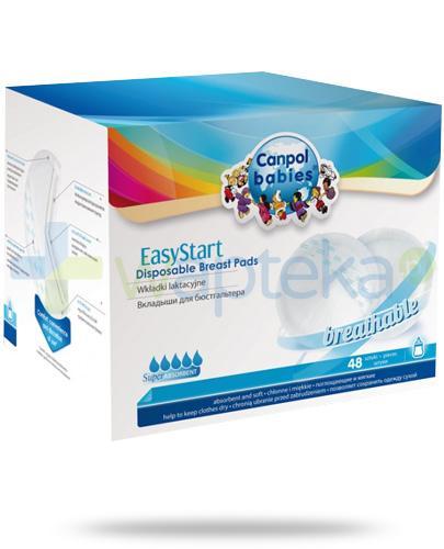 Canpol EasyStart wkładki laktacyjne 48 sztuk [19/600]
