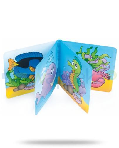 Canpol książeczka piszcząca miękka kolorowy ocean,dinozaury,zoo 1 sztuka [2/083]