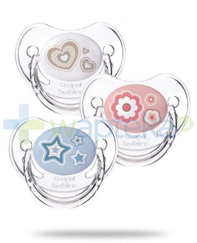 Canpol smoczek silikonowy anatomiczny newborn baby 0-6 m-cy 1 sztuka [22/565]