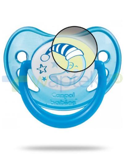 Canpol Babies smoczek świecący night dreams 6-18 mc 1 sztuka [22/501]