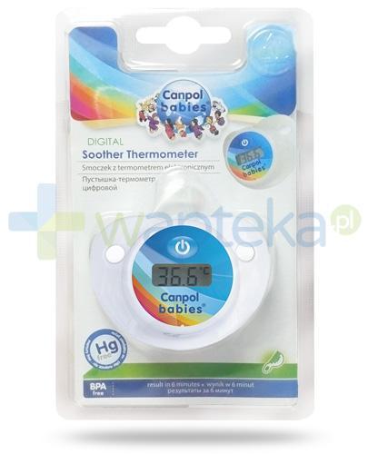 Canpol smoczek z termometrem elektronicznym 1 sztuka [9/103]