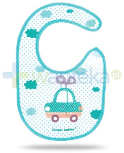 Canpol Toys śliniak bawełniany na rzep 1 sztuka [15/109]