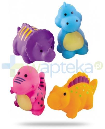 Canpol zabawki do kąpieli dinozaury 4 sztuki [2/995]