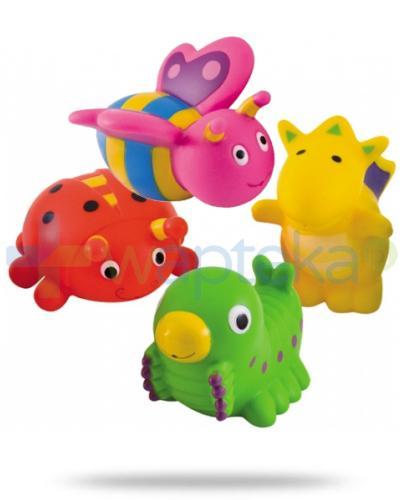 Canpol zabawki do kąpieli z kolekcji wesoły ogród 4 sztuki [2/997]