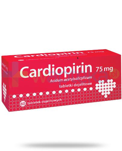 Cardiopirin 75mg 60 tabletek [Data ważności 28-02-2018]