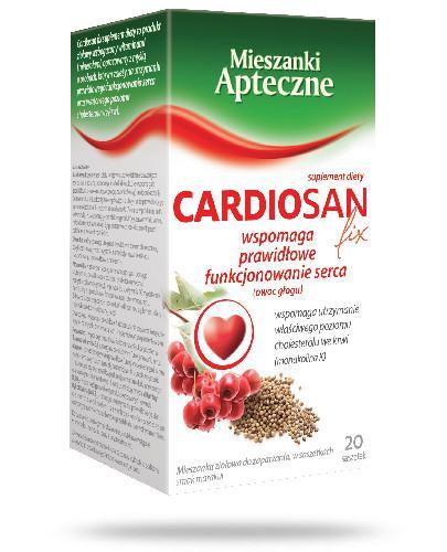 Cardiosan fix 20 saszetek
