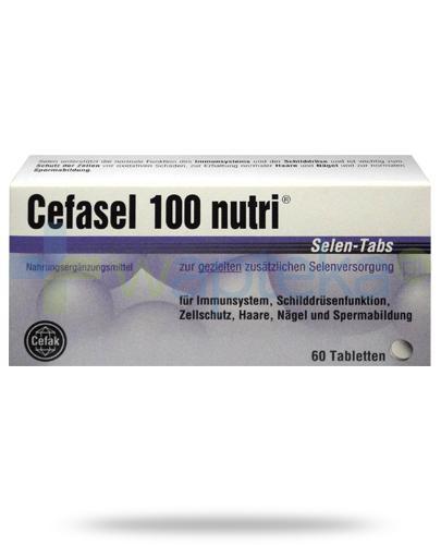 Cefasel 100 Nutri Selen 60 tabletek