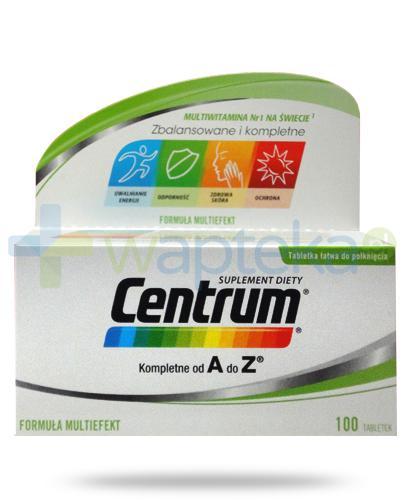 Centrum AZ Multiefekt witaminy i minerały 100 tabletek