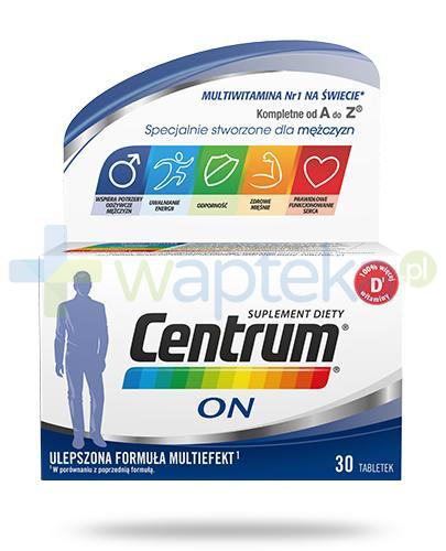 Centrum On Multiefekt witaminy i minerały dla mężczyzn 30 tabletek [UMF]