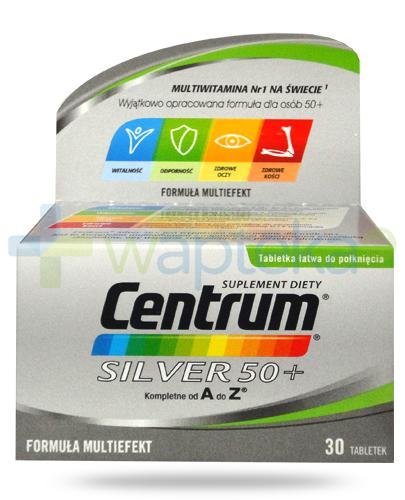 Centrum Silver 50+ Multiefekt witaminy i minerały dla seniorów 30 tabletek
