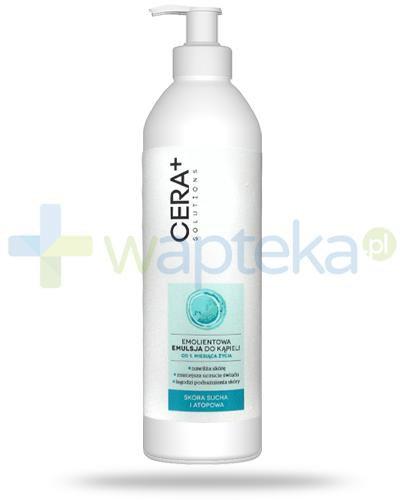 Cera+ Solutions emolientowa emulsja do kąpieli dla dzieci 1m+ 500 ml