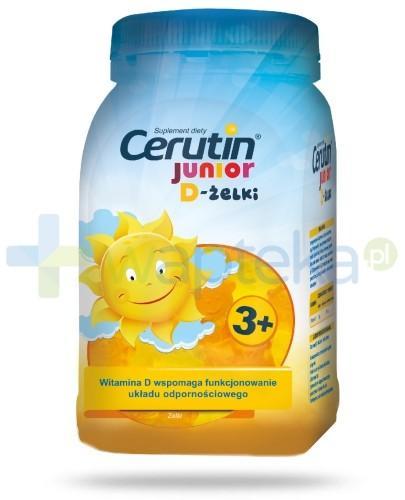Cerutin Junior D-żelki 240 g