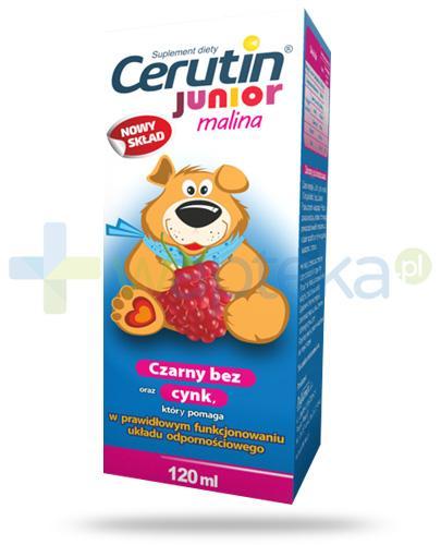 Cerutin Junior syrop malinowy 120 ml