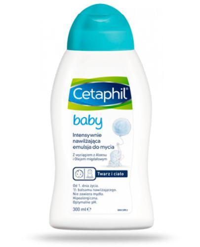 Cetaphil Baby intensywnie nawilżająca emulsja do mycia 300 ml
