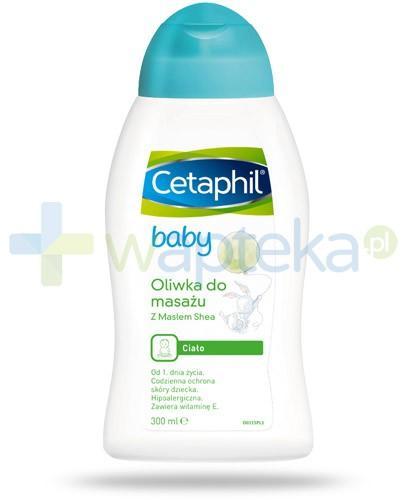 Cetaphil Baby oliwka do masażu z msłem shea 300 ml