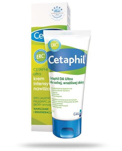 Cetaphil DA Ultra krem intensywnie nawilżający dla skóry suchej i wrażliwej 85 g - Data ważności 30-06-2017