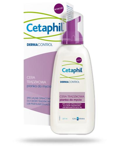 Cetaphil Dermacontrol pianka do mycia cery trądzikowej 237 ml