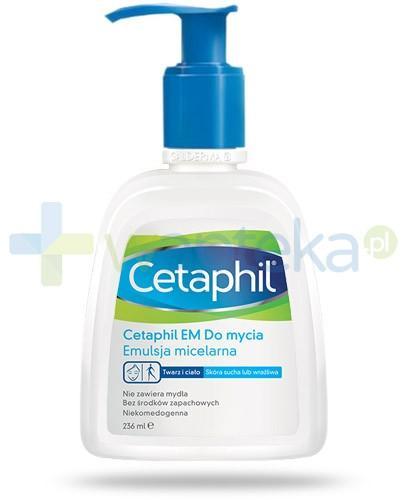 Cetaphil EM emulsja micelarna do mycia z pompką 236 ml