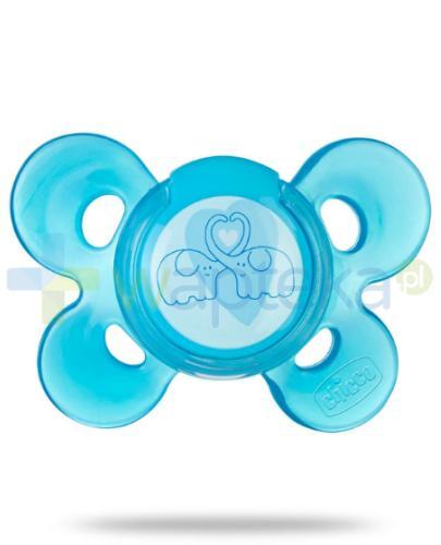 Chicco smoczek Physio Comfort silikonowy niebieski 4m+ 1 sztuka