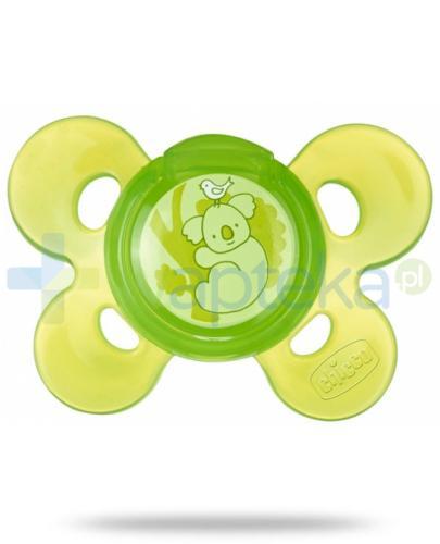 Chicco smoczek Physio Comfort silikonowy zielony 12m+ 1 stuka