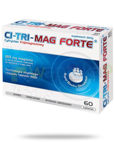 Ci-tri-Mag Forte 60 tabletek