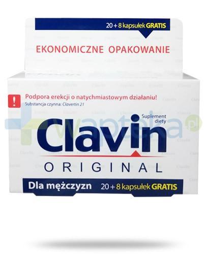 Clavin Original na wzmocnienie erekcji 28 kapsułek