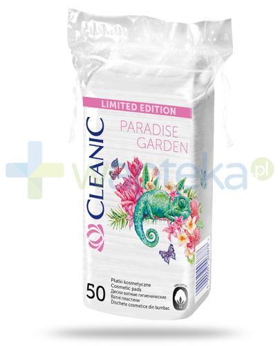 Cleanic Paradise Garden płatki kosmetyczne 50 sztuk