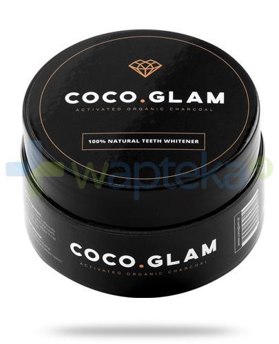 Coco Glam węgiel aktywny do wybielania zębów, proszek 30 g