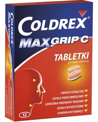 Coldrex MaxGrip C 12 tabletek