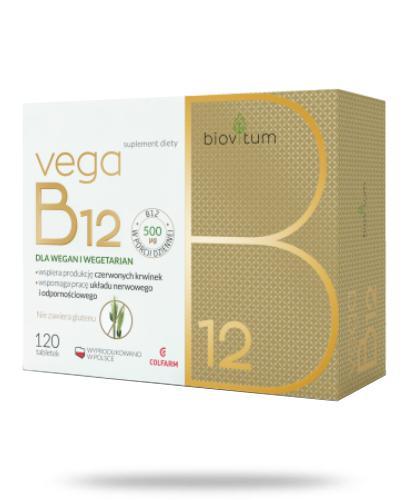 Colfarm Biovitum Vega B12 120 tabletek