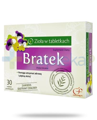Colfarm Bratek zioła w tabletkach 30 sztuk
