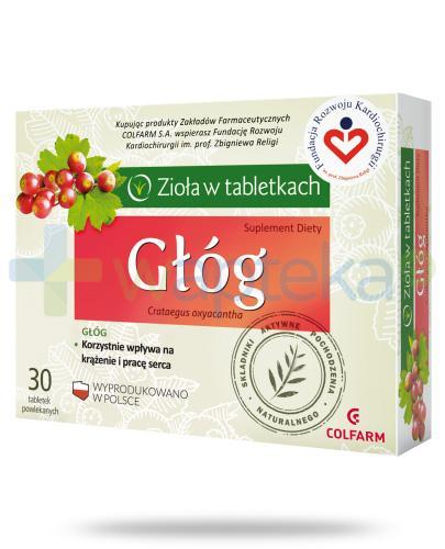 Colfarm Głóg 30 tabletek