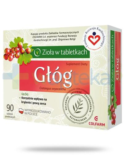 Colfarm Głóg 90 tabletek
