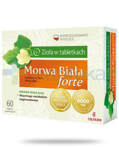 Colfarm Morwa Biała Forte 30 tabletek