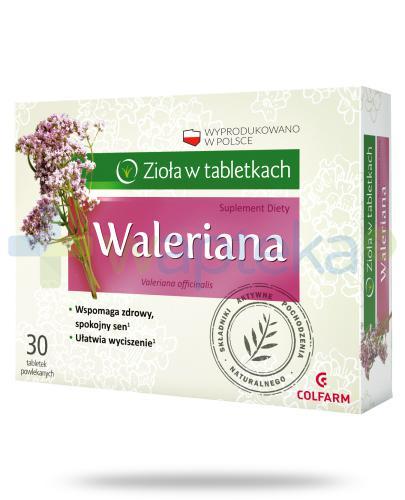 Colfarm Waleriana 30 tabletek