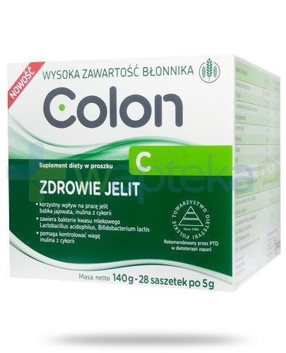 Colon C Zdrowie jelit, proszek 28x 5 g