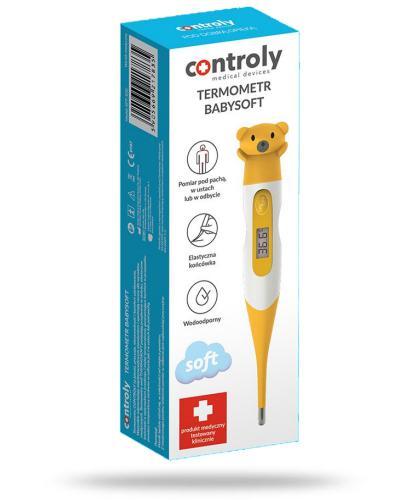 Controly Baby Soft termometr elektroniczny 1 sztuka