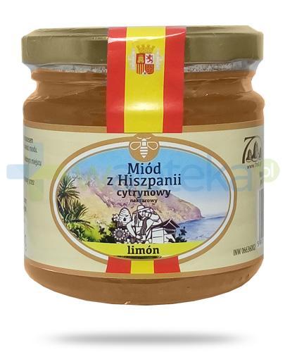 Corpo Miód z Hiszpanii Limon miód cytrynowy nektarowy 250 g