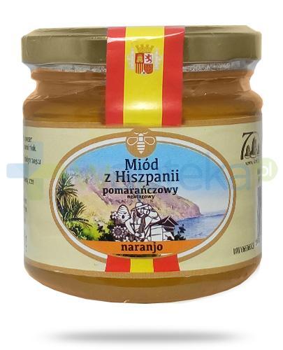 Corpo Miód z Hiszpanii Naranjo miód pomarańczowy nektarowy 250 g