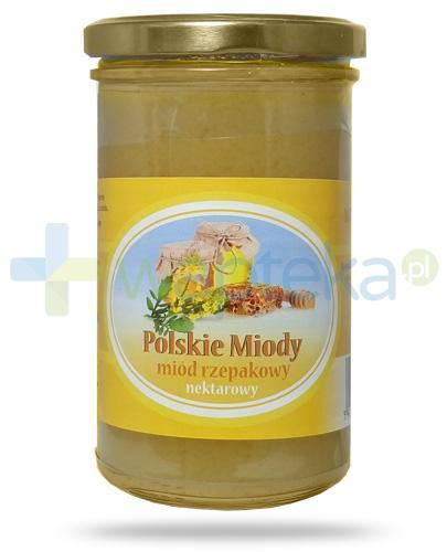 Corpo Polskie Miody miód rzepakowy nektarowy 350 g