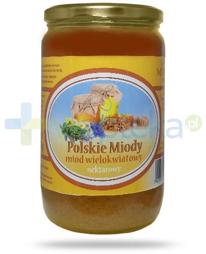 Corpo Polskie Miody miód wielokwiatowy nektarowy 900 g