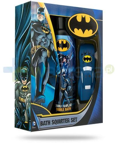 Corsair Batman ZESTAW Bubble Bath płyn do kąpieli dla dzieci 250 ml + Batmobil zabawka do kąpieli