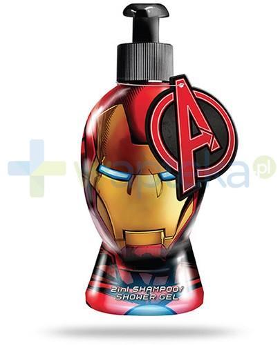 Corsair Iron Man 2w1 żel pod prysznic i szampon 300 ml