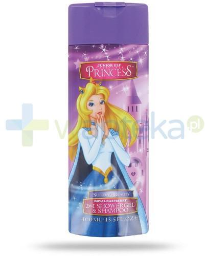 Corsair Princess Śpiąca królewna 2w1 żel pod prysznic i szampon do włosów 400 ml